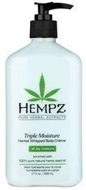 Hempz Natural Triple Moisture Herbal Whipped Body Cream