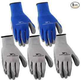 Wells Lamont Nitrile Work Gloves 5-pairs