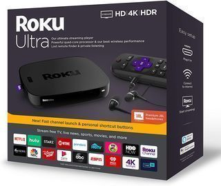 Roku Ultra Streaming Device w/ JBL Headphones