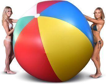 GoFloats 6' Giant Inflatable Beach Ball