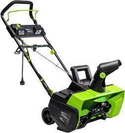 Earthwise 22-Inch 14-Amp Electric Corded Snow Thrower