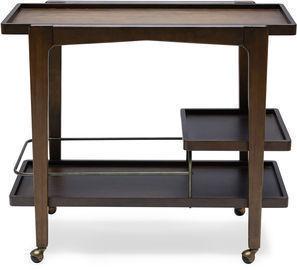 MoDRN Mid-Century Drover Bar Cart