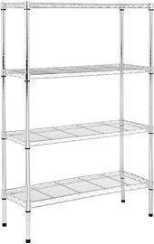 AmazonBasics 4-Shelf Adjustable Storage Shelving Unit