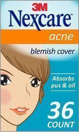 36-Count Nexcare Absorbing Acne Covers