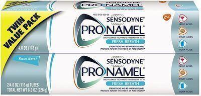3x 2-Count 4oz Sensodyne Pronamel Toothpaste