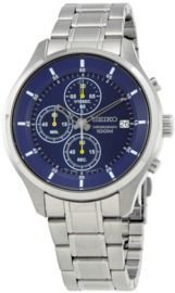 Seiko Chronograph Blue Dial Men's Watch