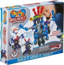 Zoob BuilderZ Zoob Bot Building Modeling System