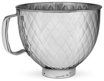 5 Quart Quilted Stainless Steel Bowl