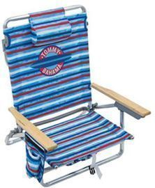 Tommy Bahama 5-Position Folding Backpack Beach Chair