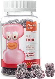 Chapter One Iron Gummies 60 Count
