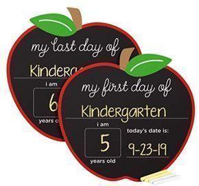 First/Last Day of School Reversible  Chalkboard