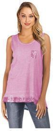 Women's Sequin Tunic Tank