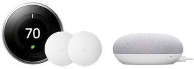 3rd Gen Nest Learning Thermostat + Google Nest  Temperature Sensor