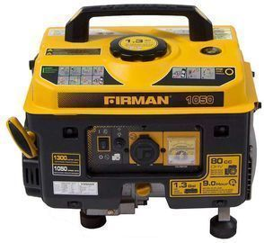 Firman 1050W Running / 1300W Peak Gasoline Powered Generator