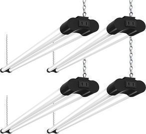 4 Pack 4' Linkable LED Utility Shop Lights