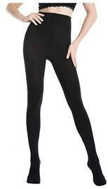 WiliW Women's Black Tights Top Hold & Stretch