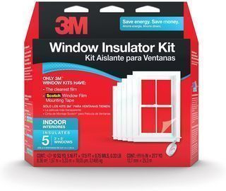 3M Indoor 5-Window Insulator Kit