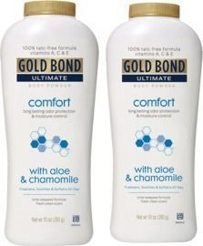 2x 10-Oz Gold Bond Ultimate Comfort Body Powder w/ Aloe