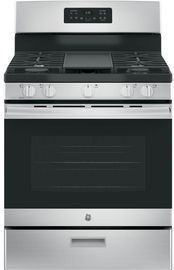 GE 30 Gas Range, Stainless Steel
