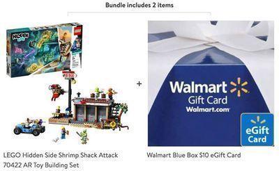 LEGO Hidden Side + FREE $10 Walmart Gift Card