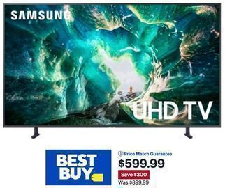 Samsung 65 8 Series 4K UHD TV Smart LED w/ HDR