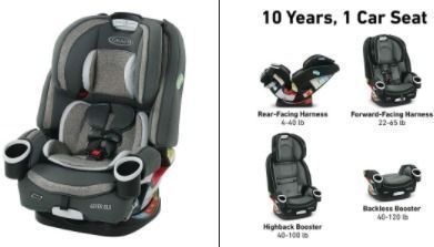 Graco 4Ever 4 in 1 Car Seat | Infant to Toddler