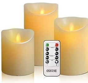 Flameless Candles - 3pk