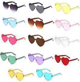 Cute Heart Shaped Sunglasses