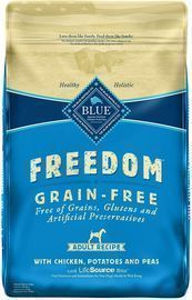 Blue Buffalo 24lb Freedom Grain Free Natural Adult Dry Dog Food