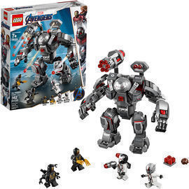 LEGO Marvel Avengers 362pc War Machine Buster 76124 Superhero Mech Building Toy