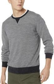 Amazon Brand Goodthreads Men's Lightweight Merino Wool Crewneck Sweater