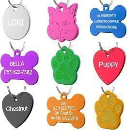 Dr. Fremont's Custom Pet ID Tags