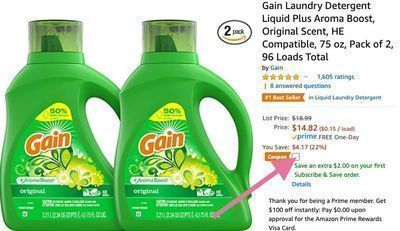 Gain Laundry Detergent + Aroma Boost
