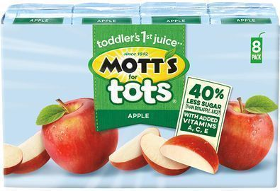 Mott's For Tots Apple, 32 6.75 Fluid Ounce Boxes