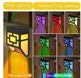 Solar Deck Lights - 6pk