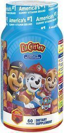 L'il Critters 60 Count Paw Patrol Complete Multivitamin Gummies