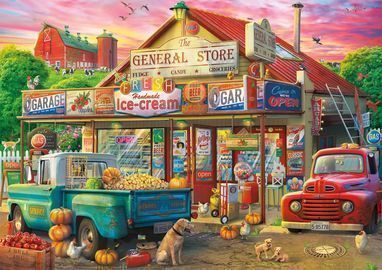 Buffalo Games 500pc Country Store Jigsaw Puzzle