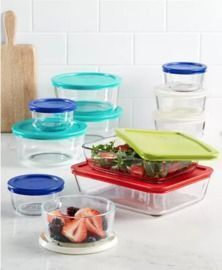 Pyrex 22pc Food Storage Container Set