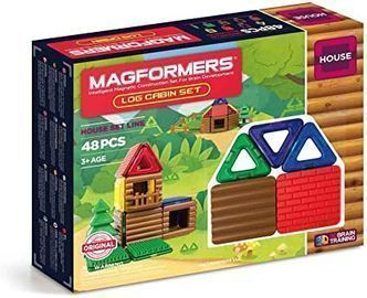 Magformers Log Cabin, 48 Pieces