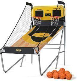 A11N Sports Dual-Shot Sharpshooter Basketball Arcade Game
