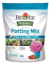Burpee Organic Premium Potting Mix - 8 Quart