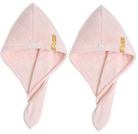 Microfiber Hair Drying Towels - 2 pack
