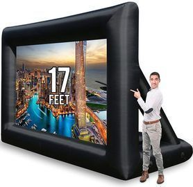 Jumbo 16' Inflatable Theater Projector Screen