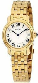 Seiko Silver Sunray Dial Women's Dress Watch