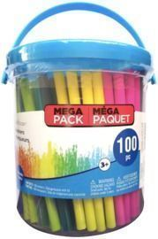 100 Count Markers Bucket By Creatology