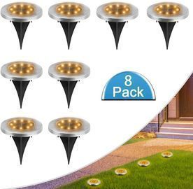 8 LED Solar Lights