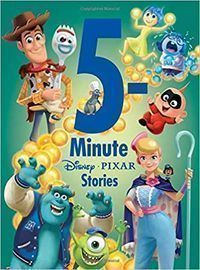 5-Minute Disney/Pixar Stories Hardcover Book
