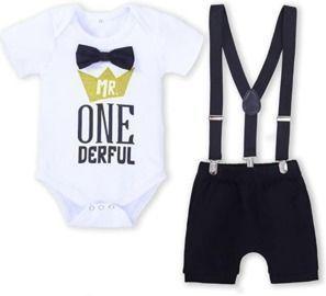 Mr Onederful Newborn 1st Birthday Outfit