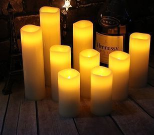 Set of 9 Eloer Flameless Candles Battery Candles