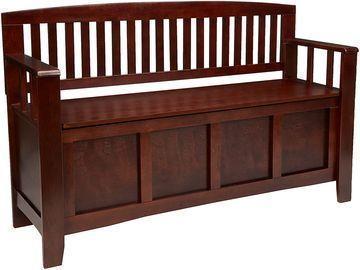 Linon Home Dcor Linon Home Decor Cynthia Storage Bench